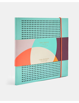 Large Grid Paper Notebook by Ted Baker
