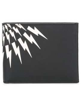 'thunder' Billfold Wallet by Neil Barrett