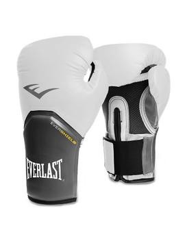 Everlast™ Pro Style Elite 12oz Training Boxing Gloves   White by Everlast