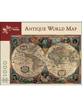 Antique World Map (Pomegranate Artpiece Puzzle) by Pomegranate