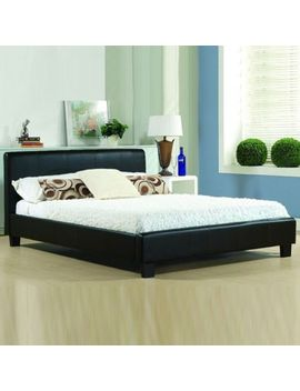 Cheap Bed Frame Double King Size Leather Beds With Memory Foam Mattress Deal   by Ebay Seller