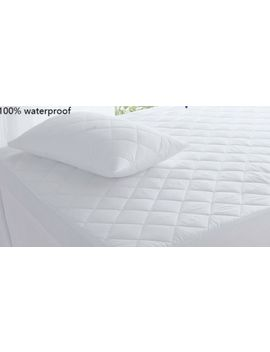 Anti Allergy Waterproof Quilted Mattress Protector. (Pillow Pair)Extra Deep by Ebay Seller