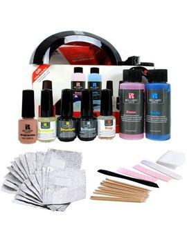 Red Carpet Manicure Pro 45 Led Gel Nail Polish Kit Soak Off Starter Package by Red Carpet Manicure