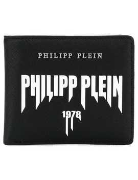 Logo Bi Fold Wallet by Philipp Plein
