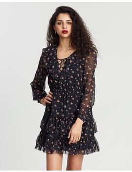 Jasmyn Silk Print Dress by Hansen & Gretel