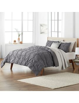 Sonoma Goods For Life™ Fallon Pleated Duvet Cover Set by Kohl's