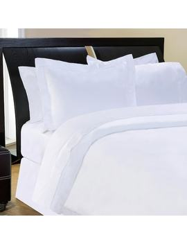 Pointehaven Solid 400 Thread Count Pima Cotton Sateen 3 Pc. Duvet Cover Set   King by Kohl's