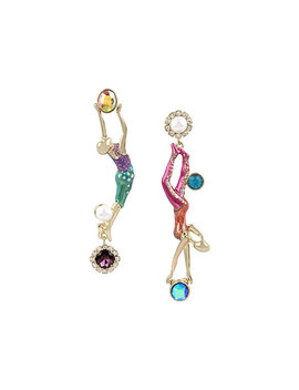Magical Show Trapeze Earrings by Betsey Johnson