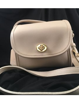Vintage Coach Bag / Coach Emmie Crossbody Bag In Ivory Leather / Coach Bag 9018 by Etsy