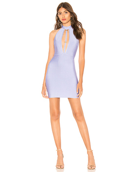 Jayleen Front Strap Bandage Dress by By The Way.