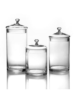 Style Setter 3 Pc. Glass Kitchen Canister Set by Kohl's