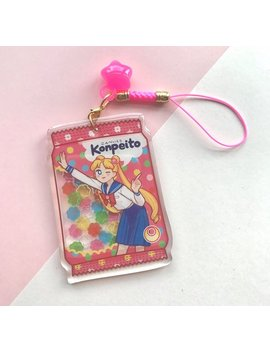 Sailor Moon Acrylic Charm by Etsy