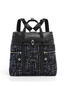 Jetsetter Tweed Backpack by Henri Bendel