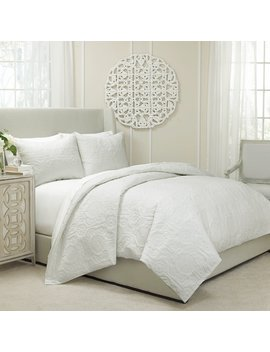 Vue Barcelona 3 Pc. Quilted Duvet Cover Set by Kohl's