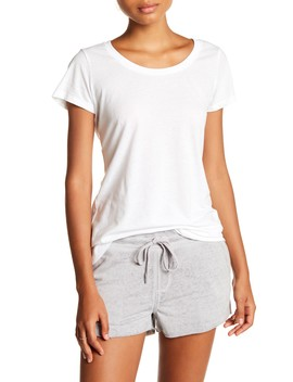 Sasha Scoop Tee by Threads 4 Thought
