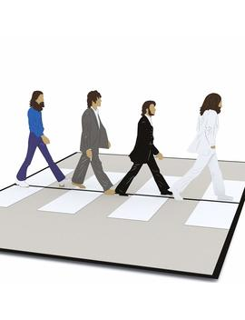 Lovepop The Beatles Abbey Road Pop Up Card by Lovepop