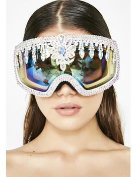 Crystal Snow Goggles by The Lyte Couture