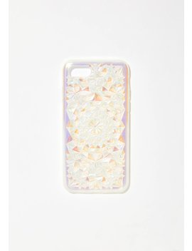 Clearly Cosmic Kaleidoscope I Phone Case by Felony Case