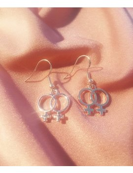 Double Venus Lesbian Earrings by Etsy