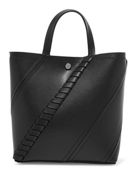 Hex Paneled Textured Leather Tote by Proenza Schouler