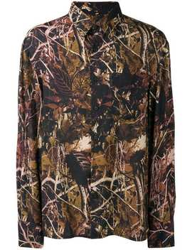Woods Print Shirt by Lanvin