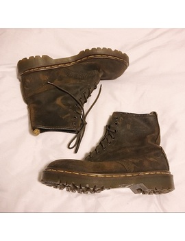 Vintage Brown Doc Martens by Dr. Martens
