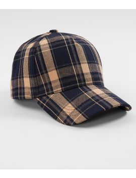 Plaid Baseball Hat by Olive & Pique