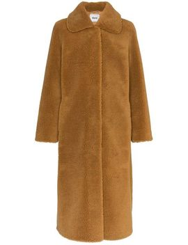 Gilberte Teddy Faux Fur Coat by Stand
