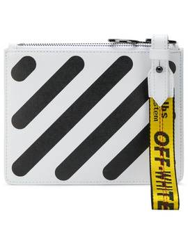 Diag Double Flat Pouch by Off White