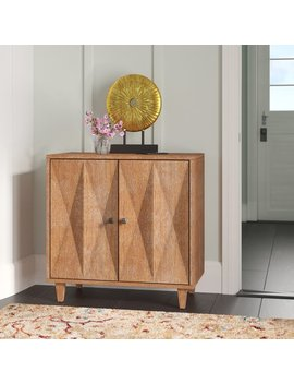 Bungalow Rose Park Place 2 Door Accent Cabinet & Reviews by Bungalow Rose