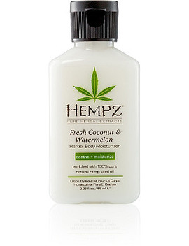 Mini Fresh Coconut And Watermelon Herbal Body Moisturizer by Hempz