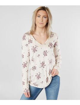 Medallion Floral Top by Daytrip