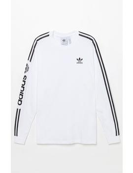Adidas Graphic Long Sleeve T Shirt by Pacsun
