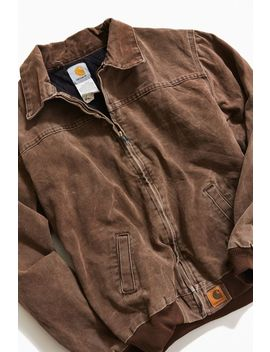 Vintage Carhartt Brown Work Jacket by Carhartt