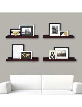Kiera Grace Edge Wall Ledge Shelf 4 Piece Set by Kohl's