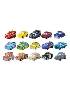 Disney Pixar Cars Mini Racers 15pk by Cars