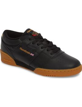 Workout Low Top Sneaker by Reebok