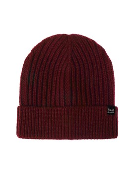 Cuffed Ribbed Knit Beanie by Bickley + Mitchell