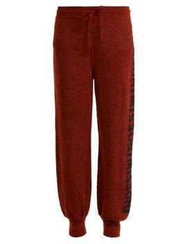 Logo Knit Trousers by Missoni