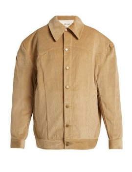 Oversized Cotton Corduroy Jacket by A.W.A.K.E.