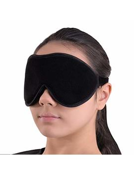 Sleep Mask Blindfold Eye Shades   100 Percents Light Blocking   Blackout Sleeping Mask Is Comfortable For Relaxation Migraines Insomnia   Travel Mask Is... by Sleep Tight By G7