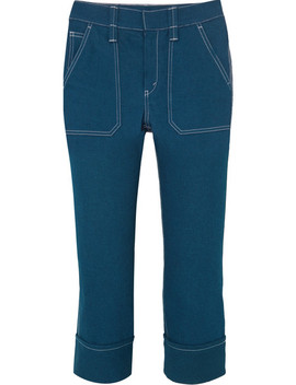 Cropped High Rise Skinny Jeans by Chloé