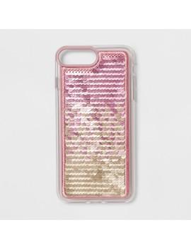 Heyday™ Apple I Phone 8 Plus/7 Plus/6s Plus/6 Plus Sequin Case   Pastel Mermaid by Heyday