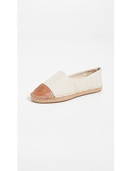 Colorblock Flat Espadrilles by Tory Burch