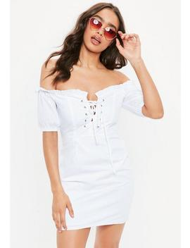 White Milk Maid Dress by Missguided