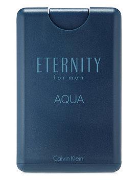 Eternity Aqua For Men Eau De Toilette Pocket Spray, 0.67 Oz. by Calvin Klein