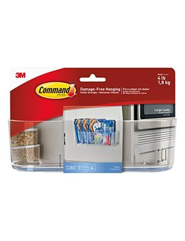Command Large Caddy, Clear   Hom 15 by Command