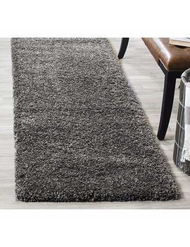 "Safavieh California Premium Shag Collection Sg151 1212 Ivory Square Area Rug (6'7"" Square) by Safavieh"