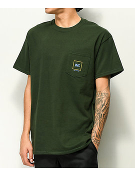 Illegal Civilization Corp Green Pocket T Shirt by Illegal Civilization