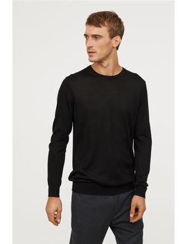 Пуловер от мериносова смес by H&M